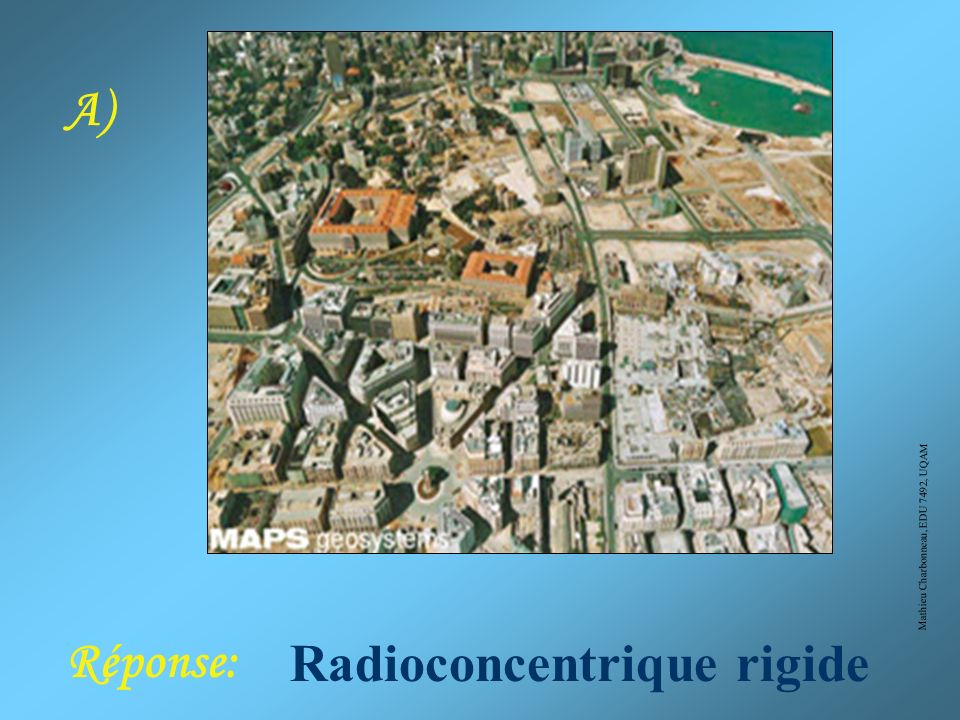 Radioconcentrique rigide