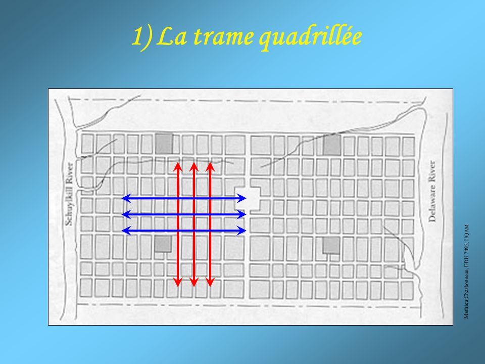 1) La trame quadrillée Mathieu Charbonneau, EDU 7492, UQAM