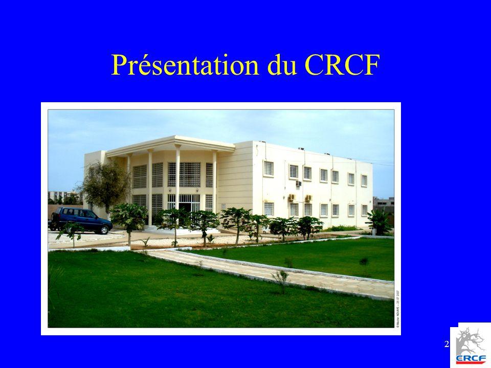 Présentation du CRCF