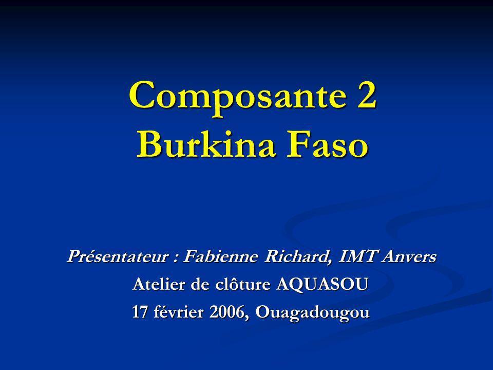 Composante 2 Burkina Faso
