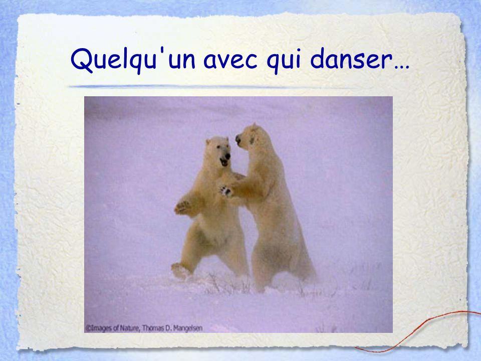 Quelqu un avec qui danser…