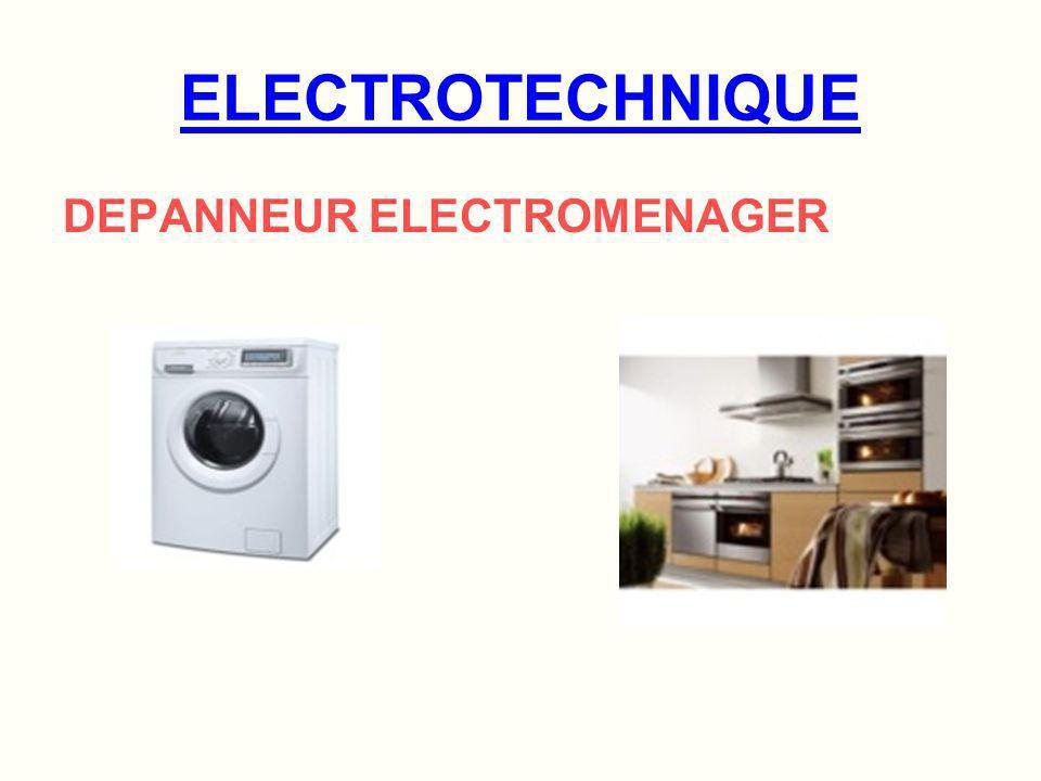 ELECTROTECHNIQUE DEPANNEUR ELECTROMENAGER