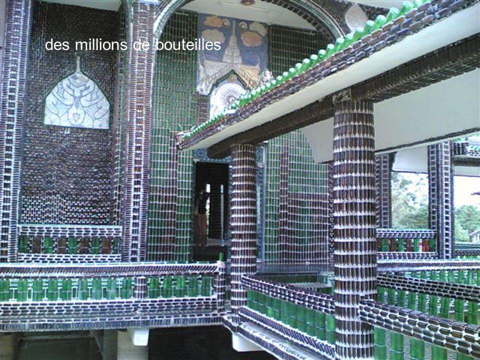 des millions de bouteilles