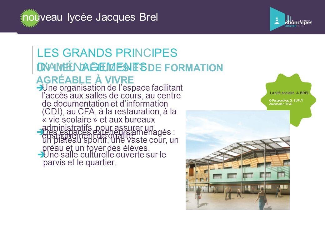 LES GRANDS PRINCIPES D'AMÉNAGEMENTS