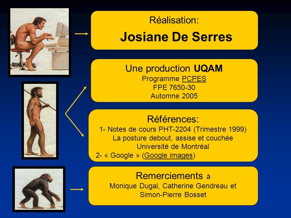Josiane De Serres Réalisation: Une production UQAM Références: