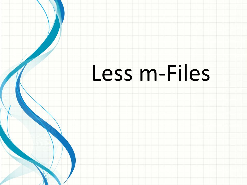 Less m-Files