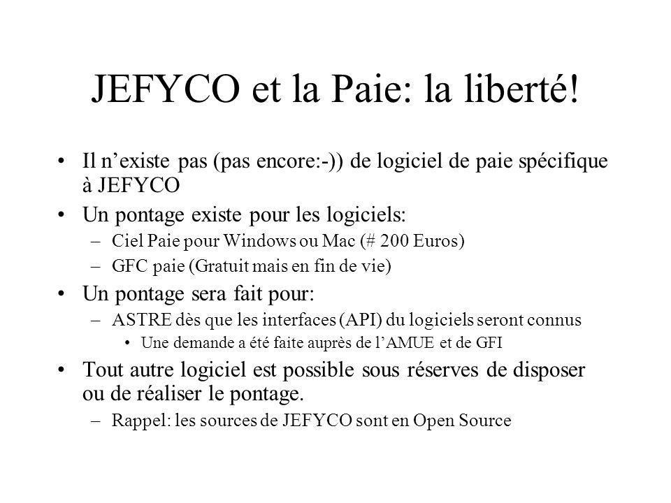 JEFYCO et la Paie: la liberté!