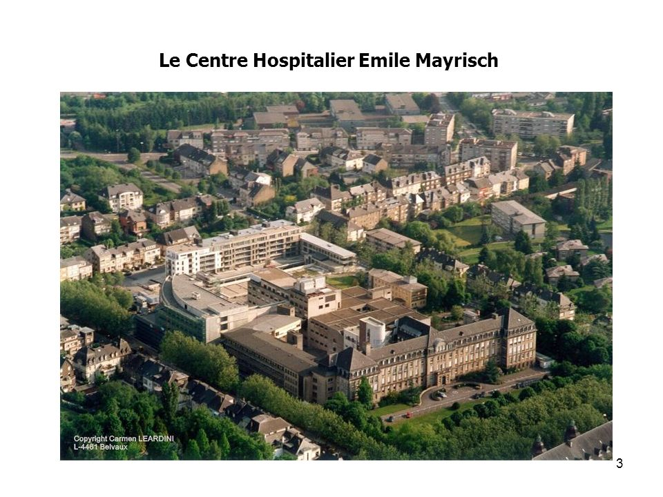 Le Centre Hospitalier Emile Mayrisch