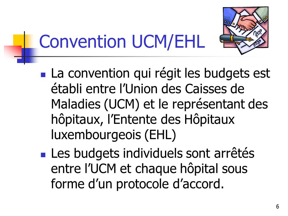 Convention UCM/EHL