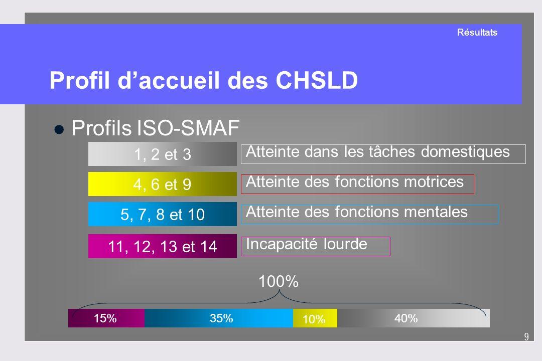 Profil d'accueil des CHSLD