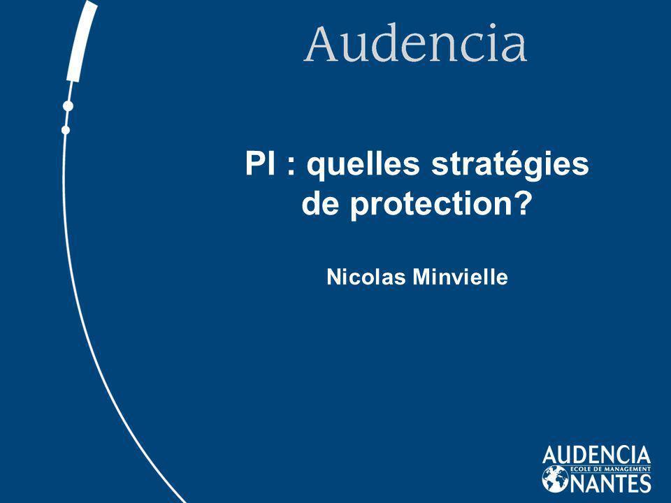 PI : quelles stratégies de protection Nicolas Minvielle