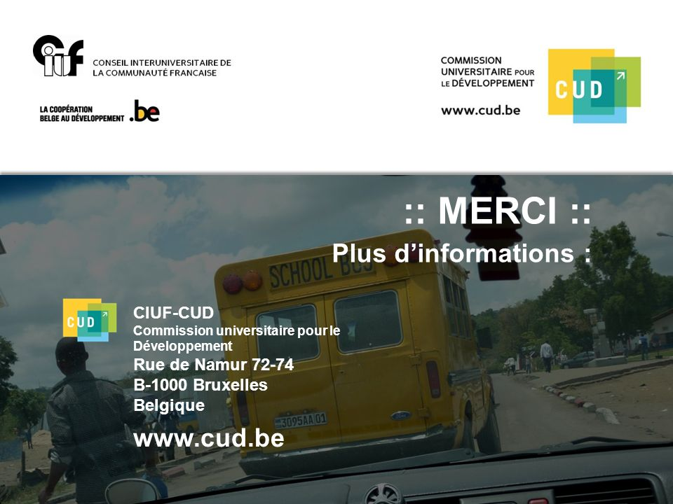 :: MERCI :: Plus d'informations :