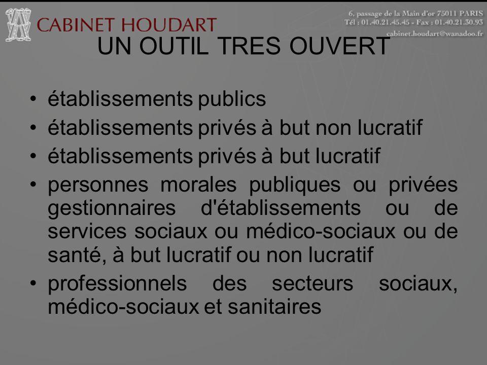 UN OUTIL TRES OUVERT établissements publics