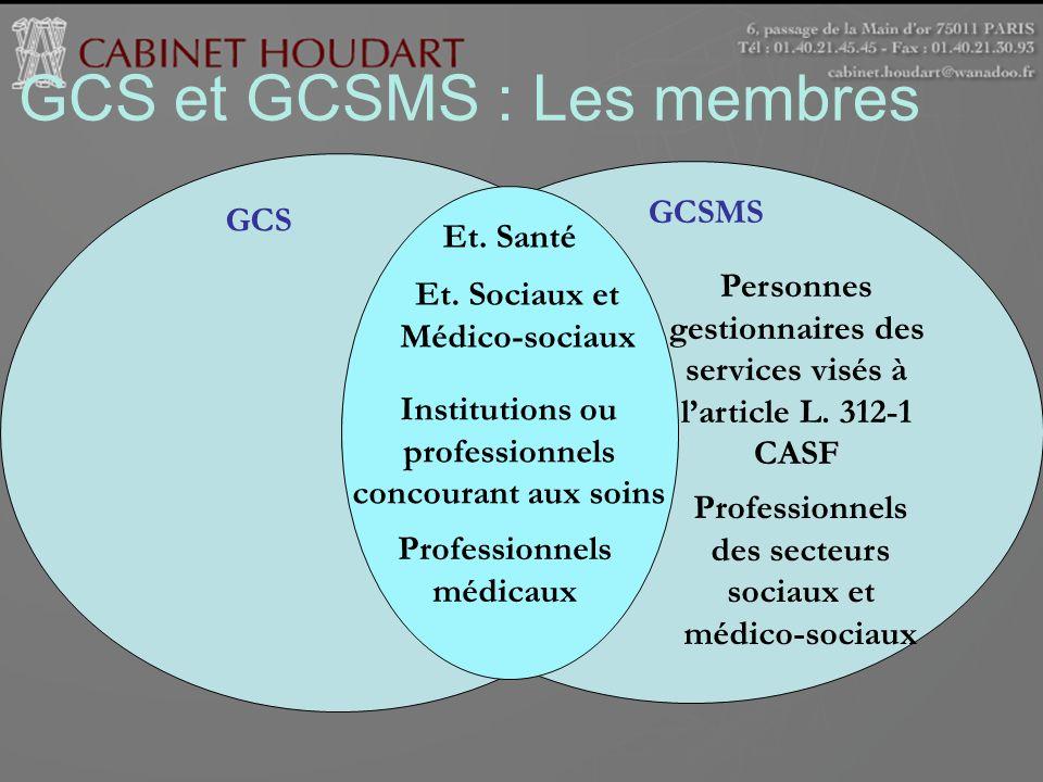 GCS et GCSMS : Les membres