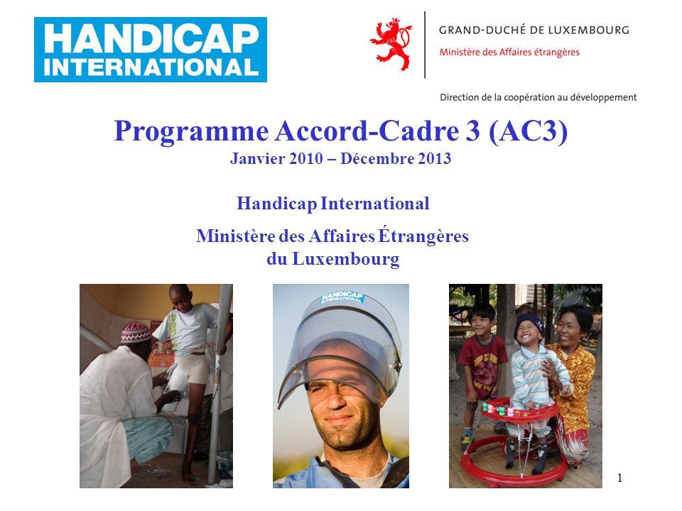 Programme Accord-Cadre 3 (AC3)