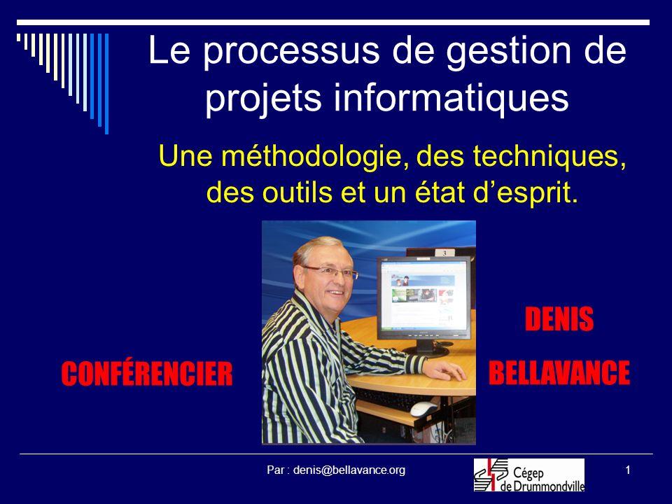 Le processus de gestion de projets informatiques
