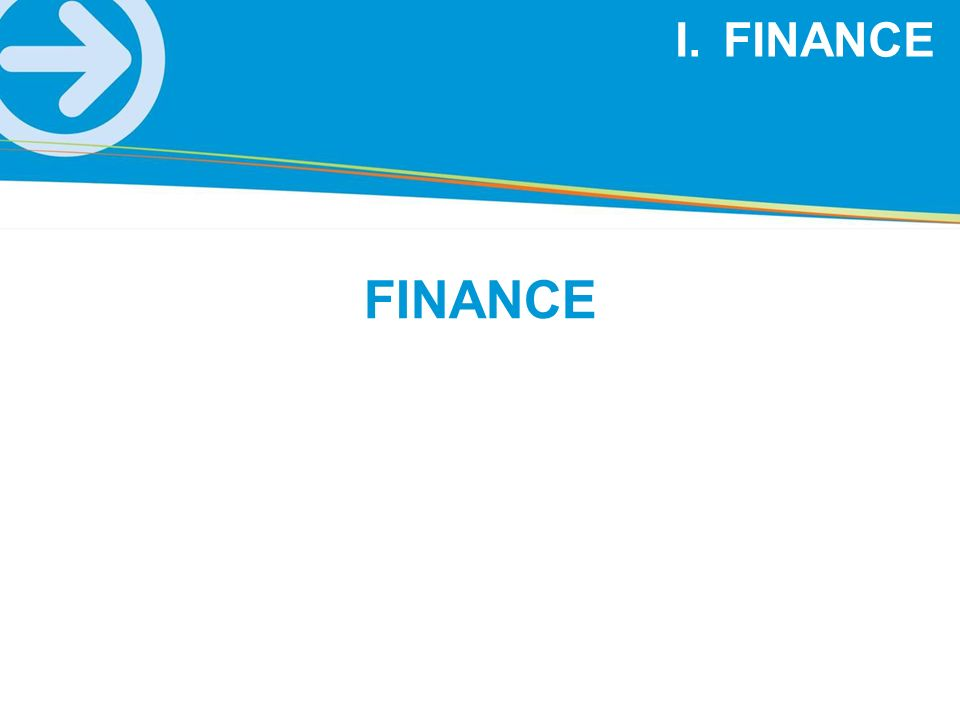 FINANCE FINANCE