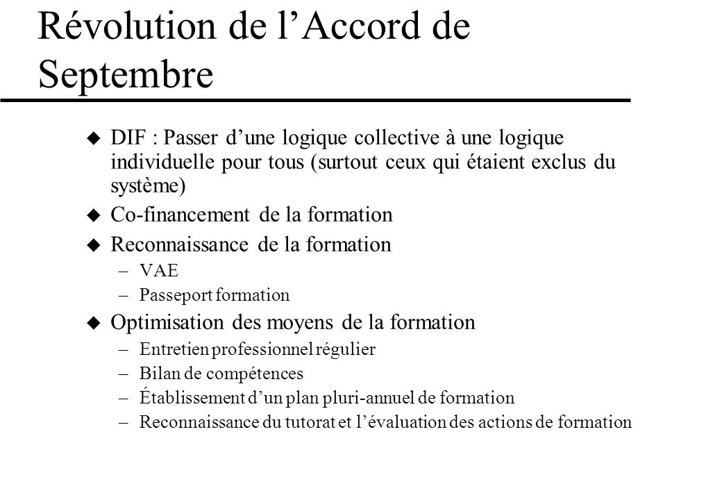 Révolution de l'Accord de Septembre