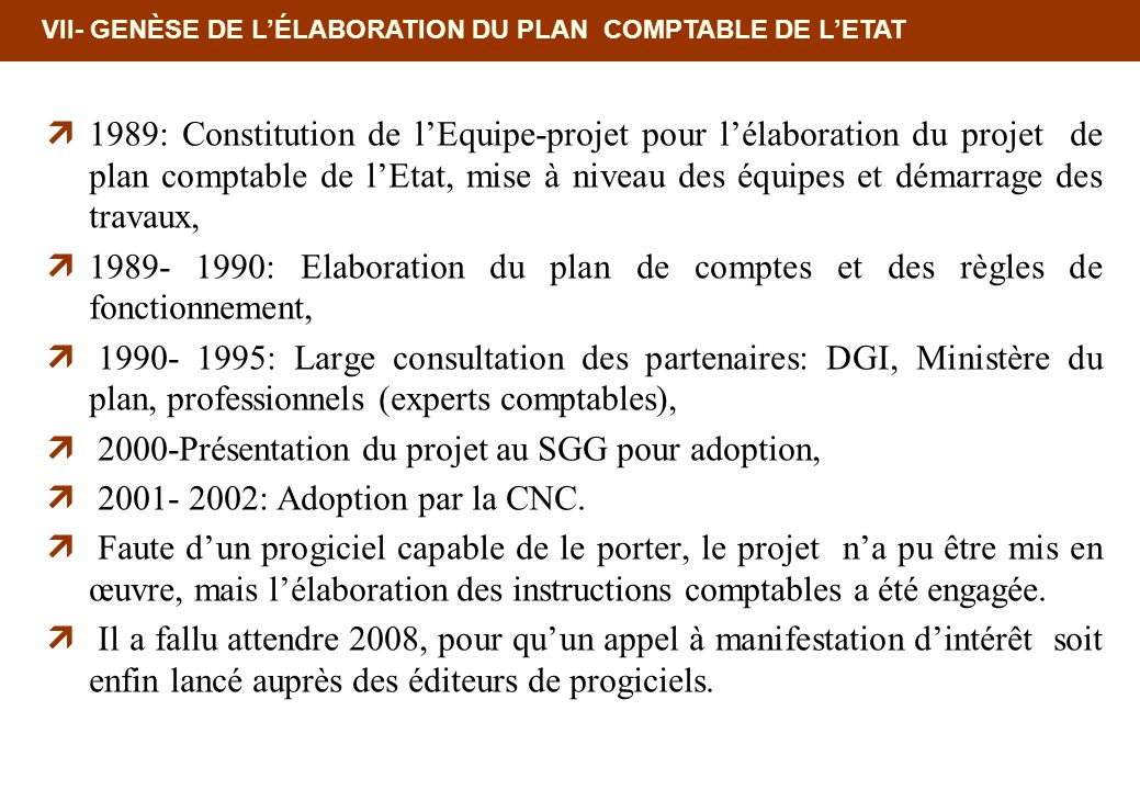 2000-Présentation du projet au SGG pour adoption,