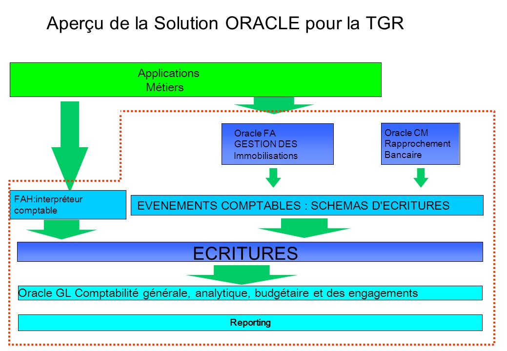 Aperçu de la Solution ORACLE pour la TGR