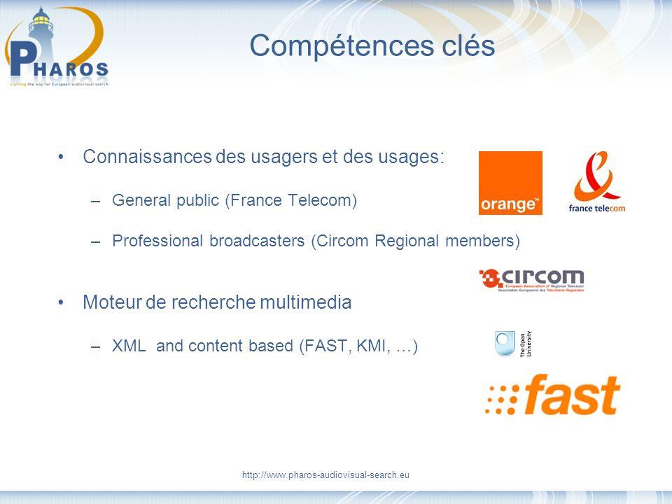 Compétences clés Connaissances des usagers et des usages: