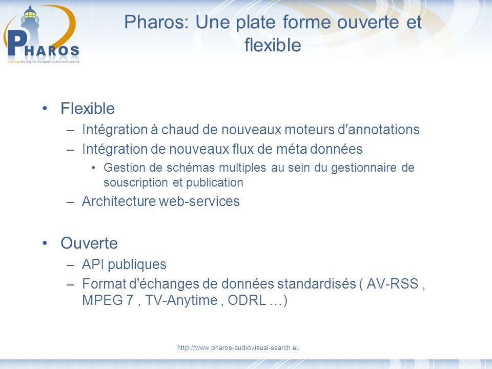 Pharos: Une plate forme ouverte et flexible