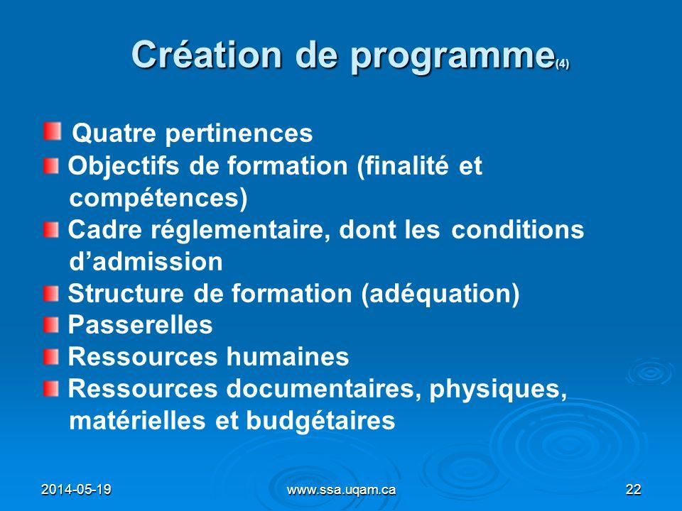 Création de programme(4)
