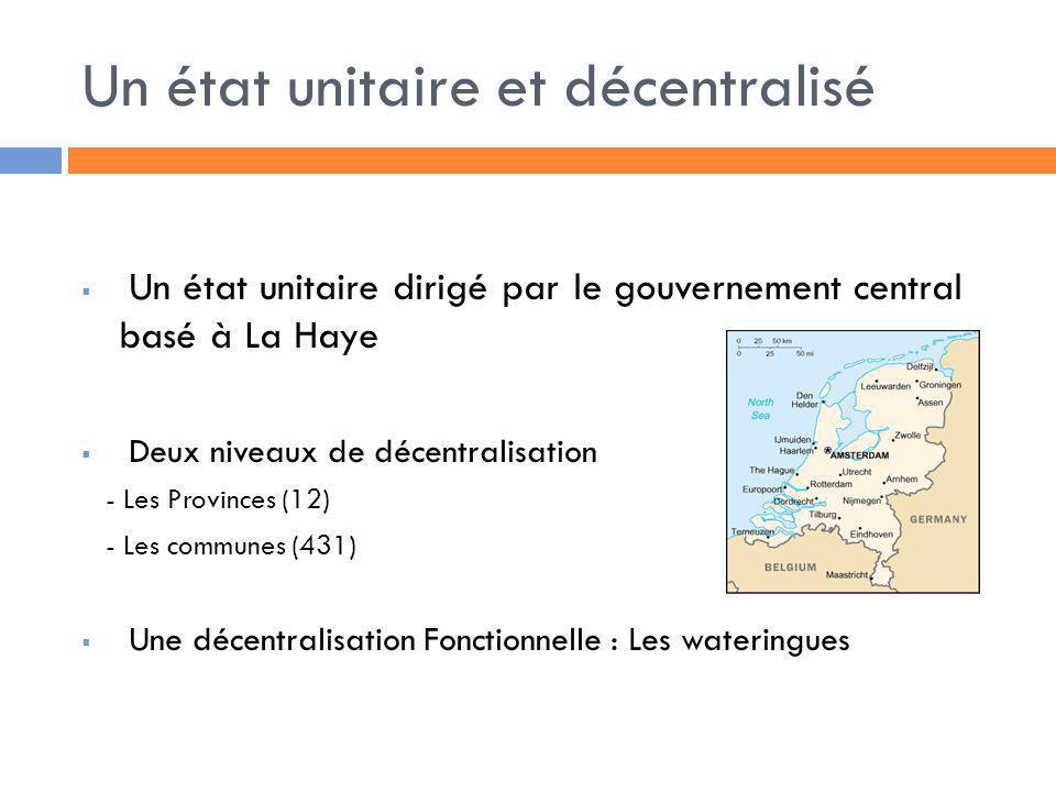 Un état unitaire et décentralisé