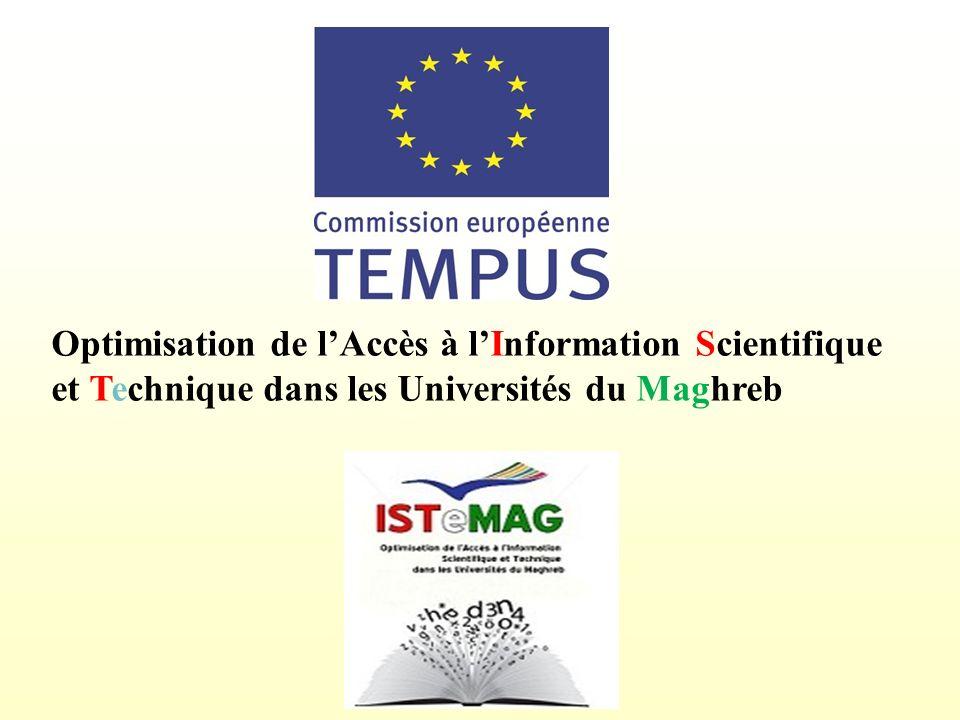 Optimisation de l'Accès à l'Information Scientifique et Technique dans les Universités du Maghreb