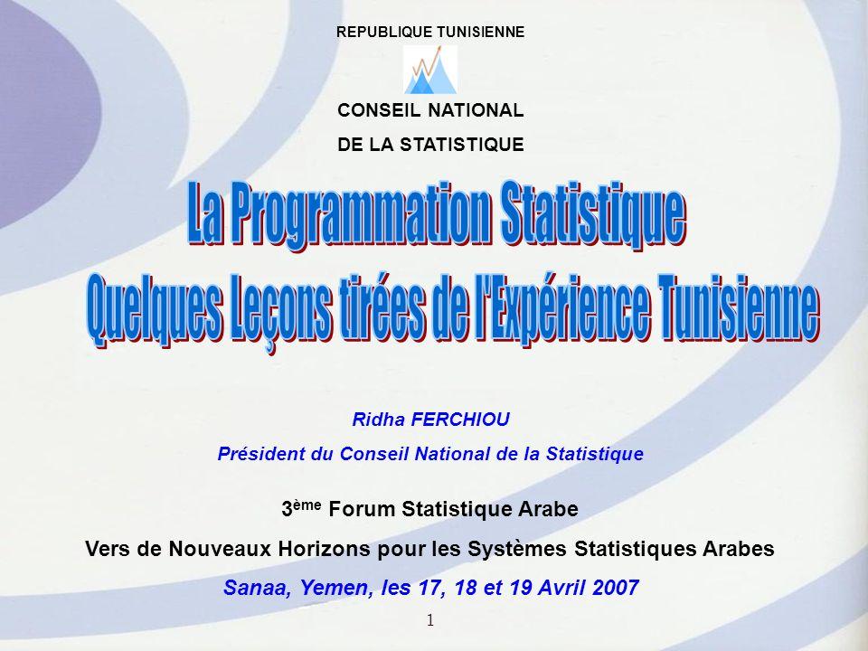 Quelques Leçons tirées de l Expérience Tunisienne