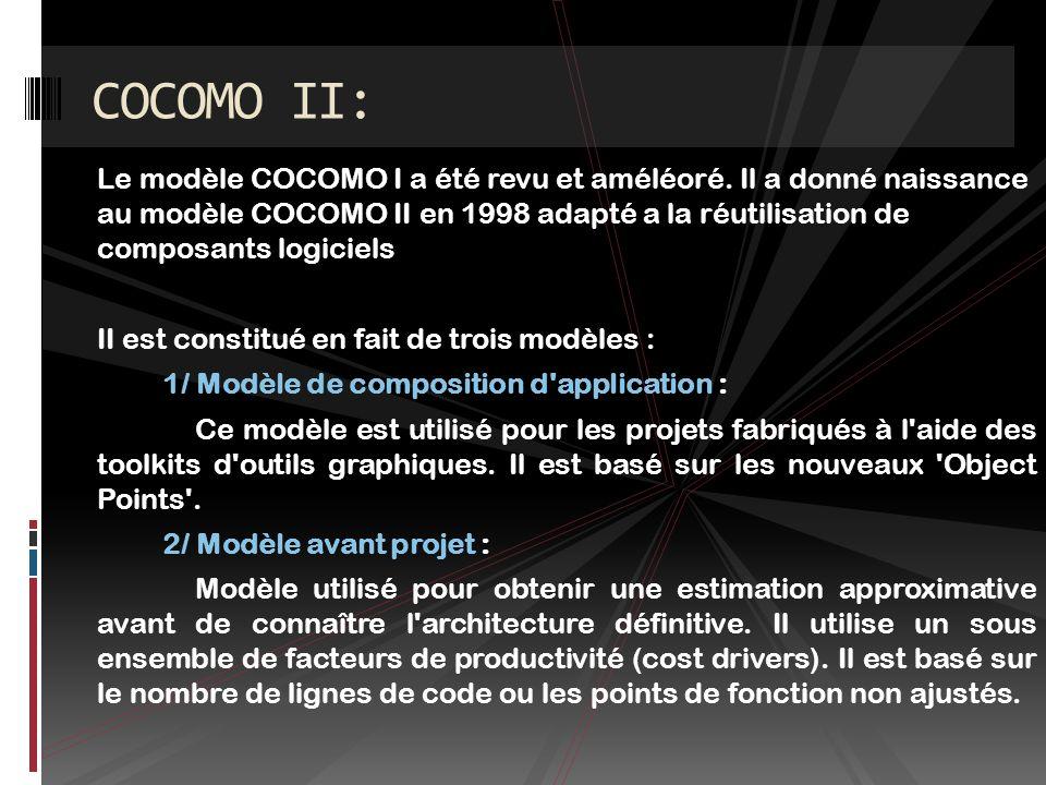 COCOMO II: