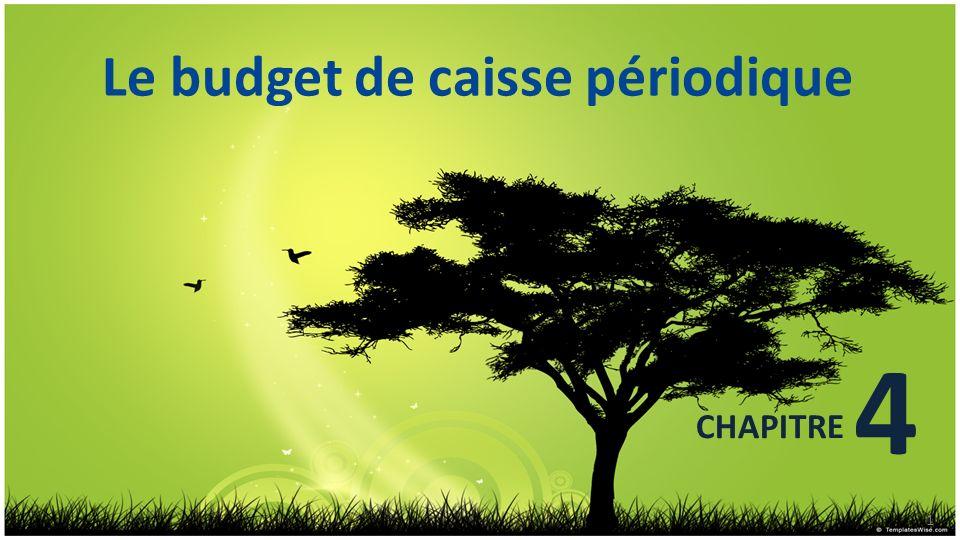 Le budget de caisse périodique