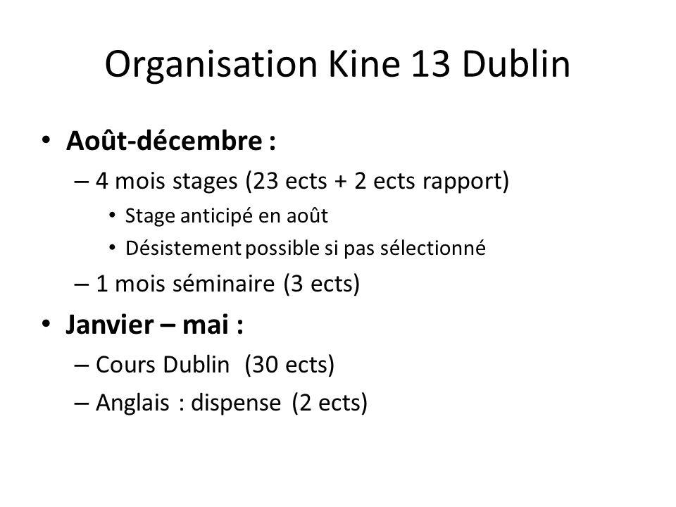 Organisation Kine 13 Dublin