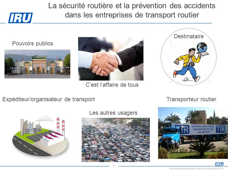 La sécurité routière et la prévention des accidents dans les entreprises de transport routier
