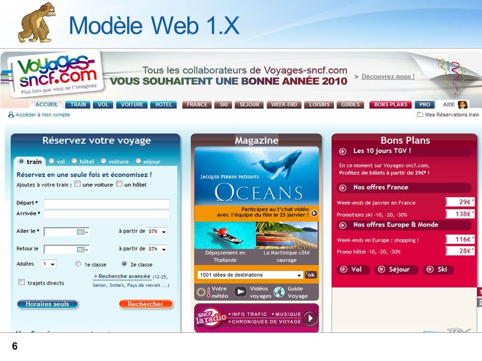 Modèle Web 1.X NAK