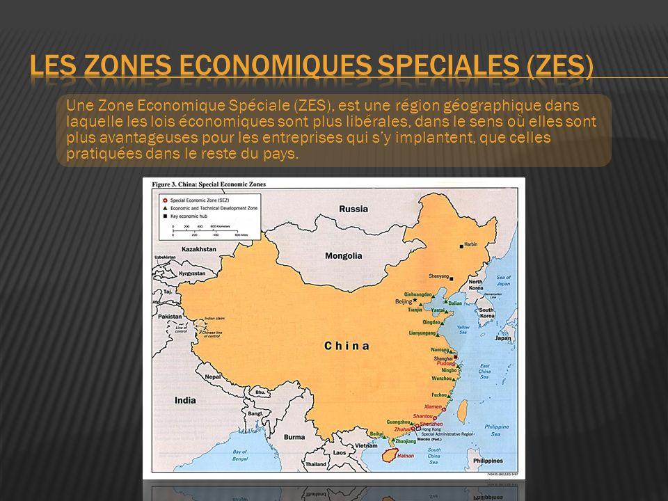 Les zones economiques speciales (zes)