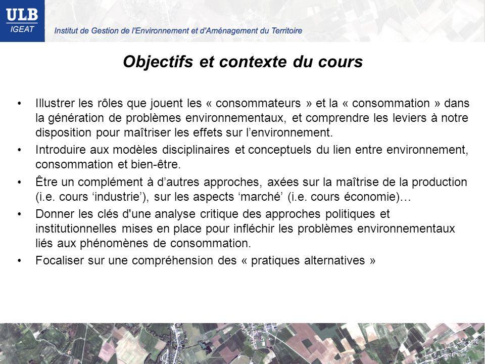 Objectifs et contexte du cours