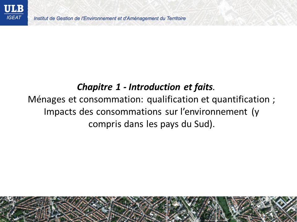 Chapitre 1 - Introduction et faits