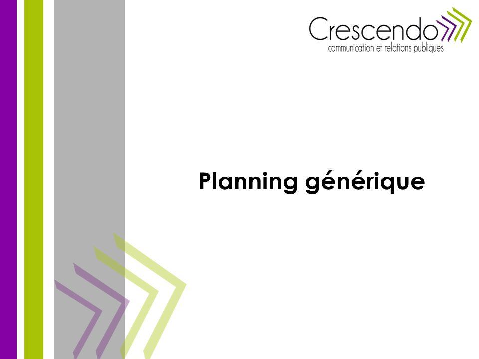 Planning générique