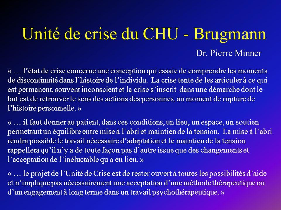 Unité de crise du CHU - Brugmann