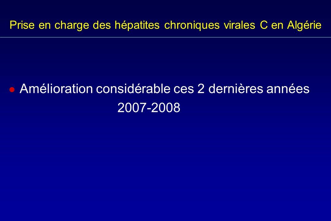Prise en charge des hépatites chroniques virales C en Algérie