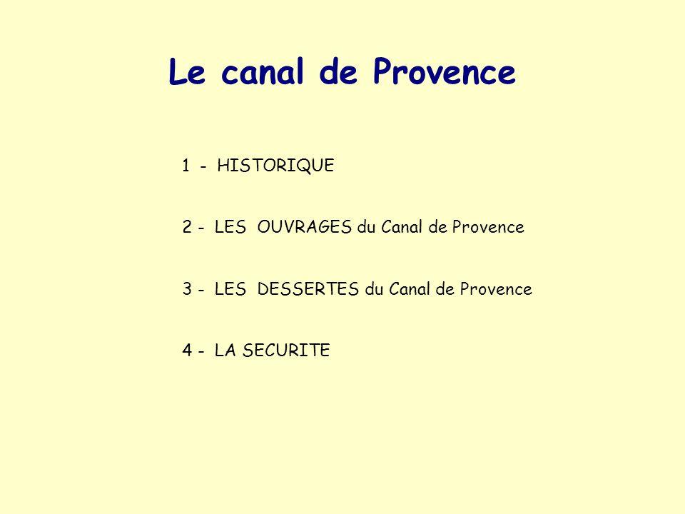 Le canal de Provence 1 - HISTORIQUE
