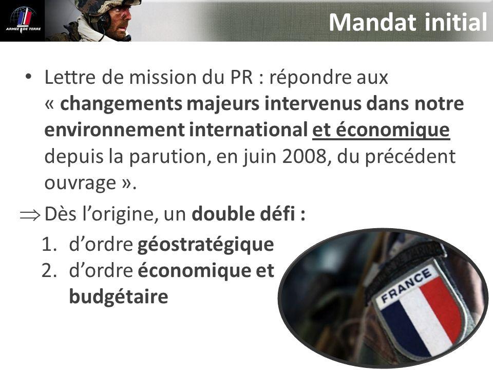 Mandat initial