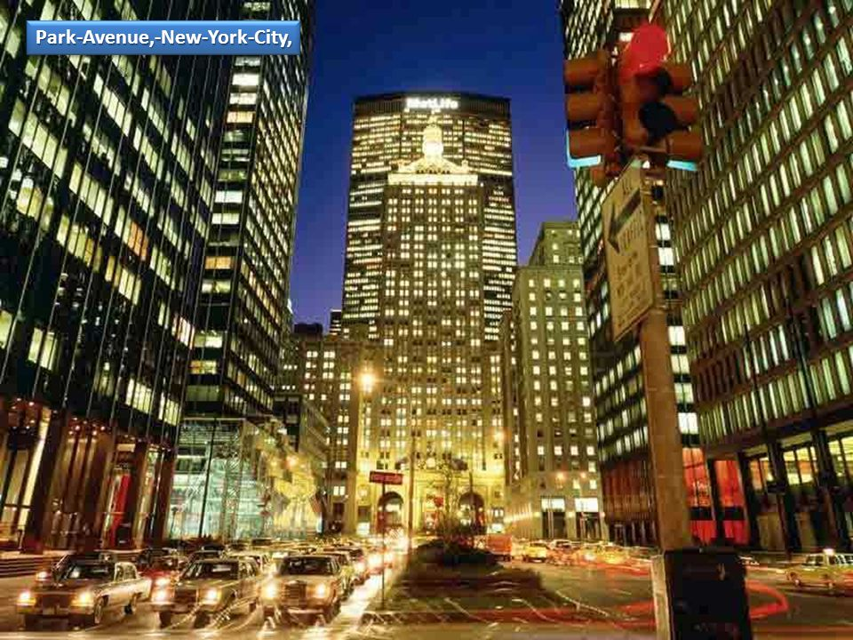 Park-Avenue,-New-York-City,