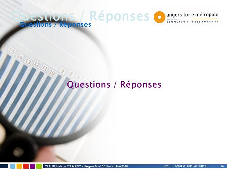 Questions / Réponses Questions / Réponses Questions / Réponses 14 14