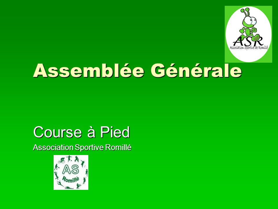 Course à Pied Association Sportive Romillé