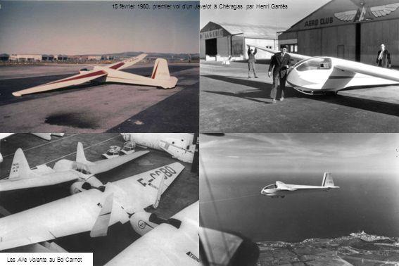 15 février 1960, premier vol d'un Javelot à Chéragas par Henri Gantès
