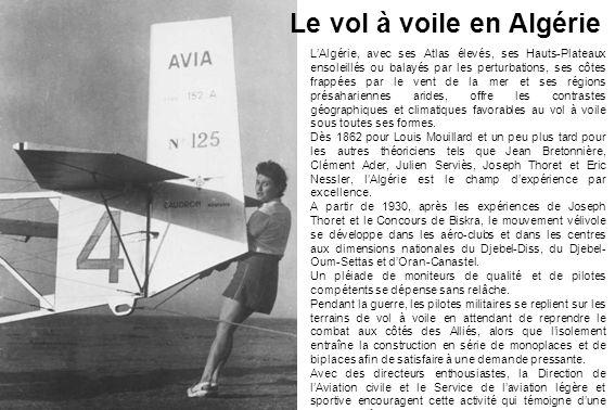Le vol à voile en Algérie