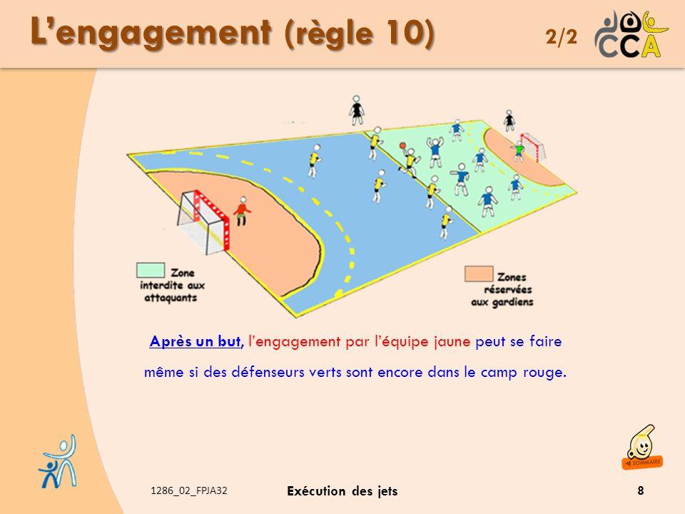 L'engagement (règle 10) 2/2