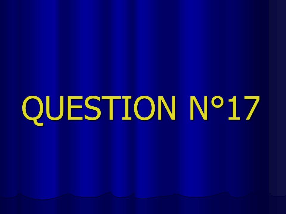 QUESTION N°17